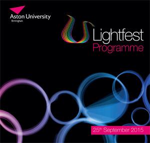 Lightfest programme